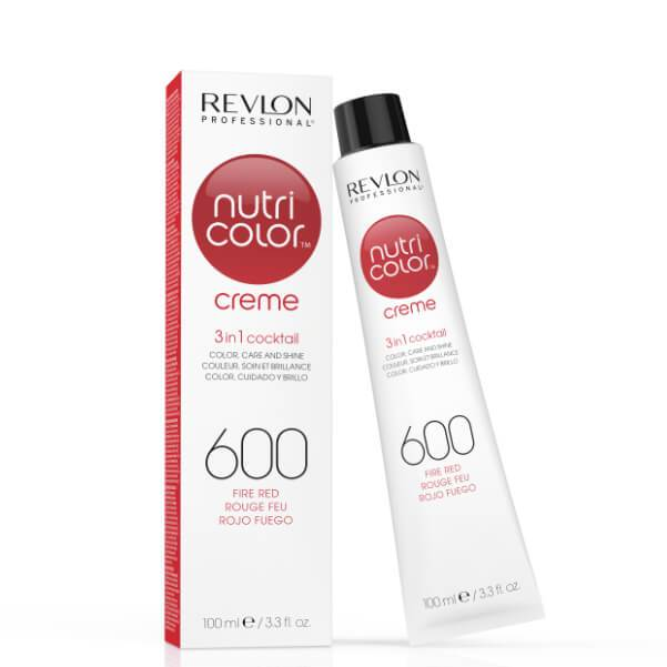 Nutri Color Creme 600 Fire Red - Duo Cosmetics