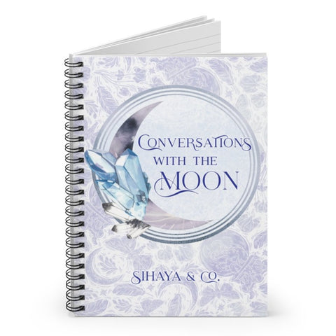 CONVERSATIONS WITH THE MOON Notebook