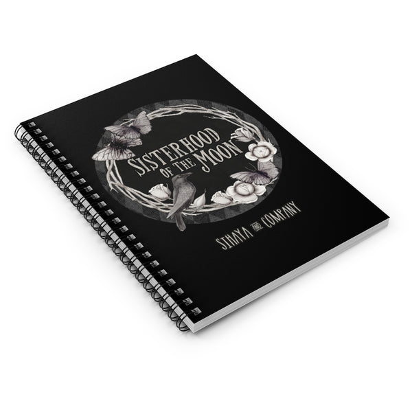 SISTERHOOD OF THE MOON Spiral Notebook