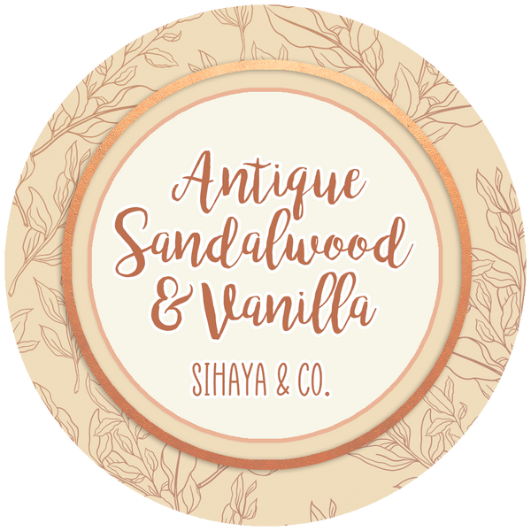 Spring Collection: ANTIQUE SANDALWOOD & VANILLA