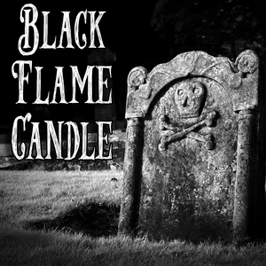 Halloween Collection: BLACK FLAME CANDLE