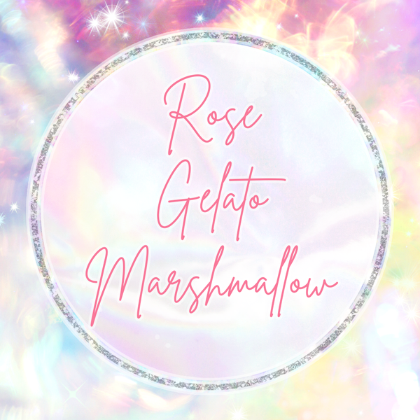 Marshmallow Dreams Collection: ROSE GELATO MARSHMALLOW