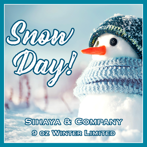 Limited Tiered Candle: SNOW DAY