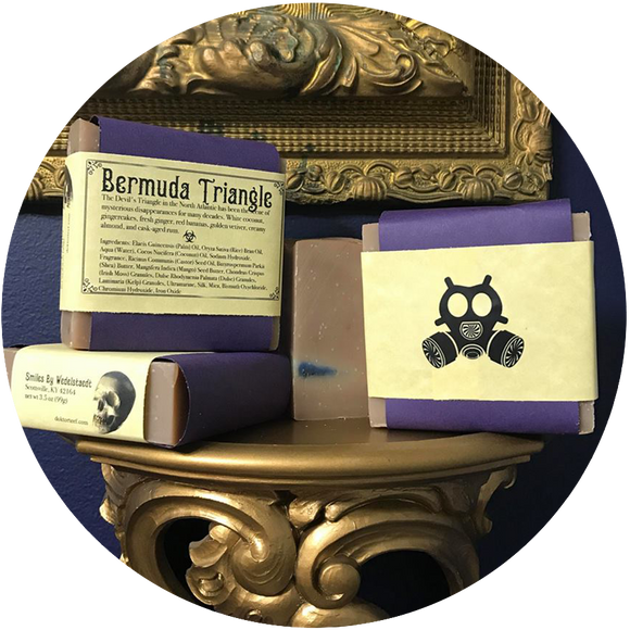 B Perry Studios + Arcana: BERMUDA TRIANGLE SOAP - SALE PRICE!