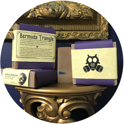 Smiles by Wedelstaedt + Arcana: BERMUDA TRIANGLE SOAP