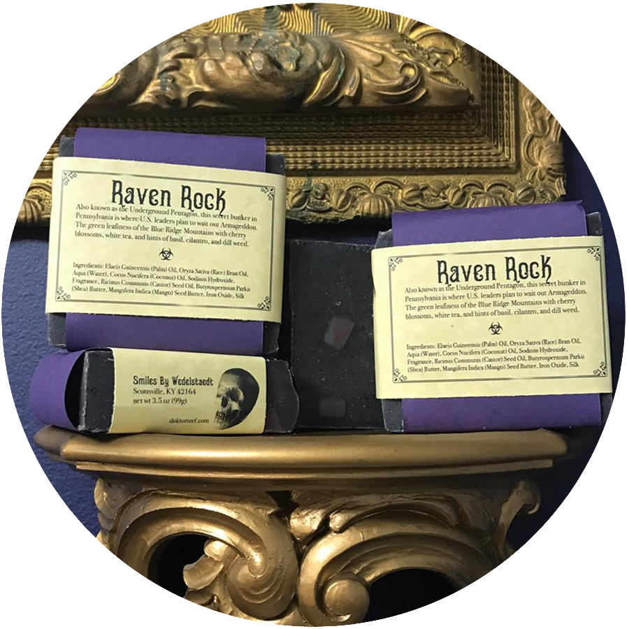 B Perry Studios + Arcana: RAVEN ROCK SOAP - SALE PRICE!