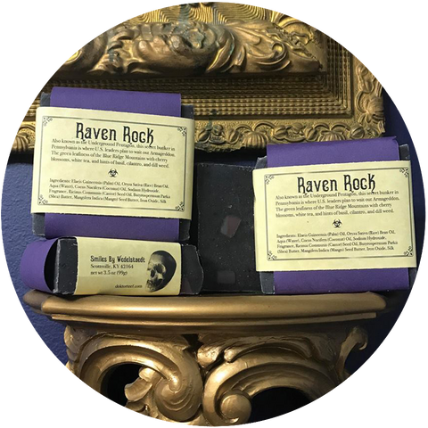 Smiles by Wedelstaedt + Arcana: RAVEN ROCK SOAP