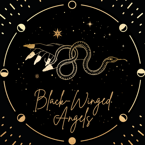 Waking The Moon Collection: BLACK-WINGED ANGELS