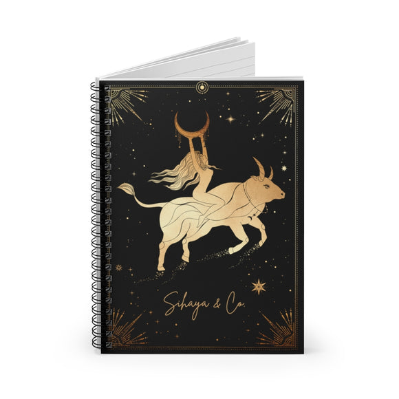 LUNARSA Spiral Notebook