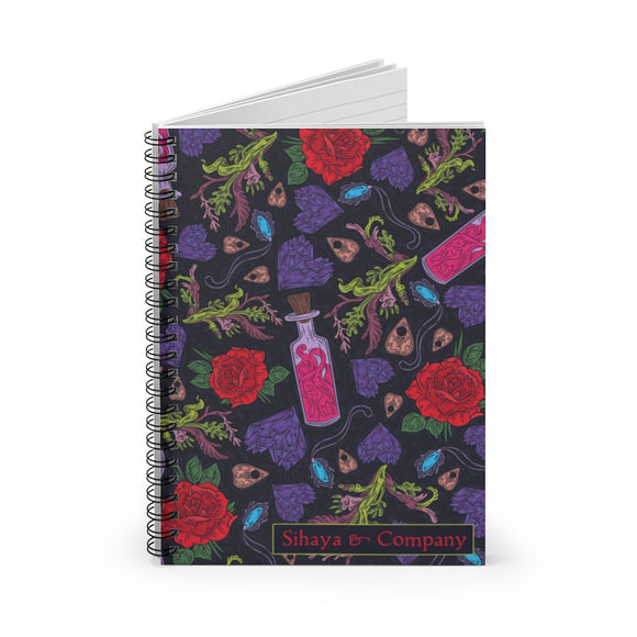 LOVE SPELL Spiral Notebook