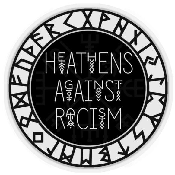 HEATHENS AGAINST RACISM Sticker