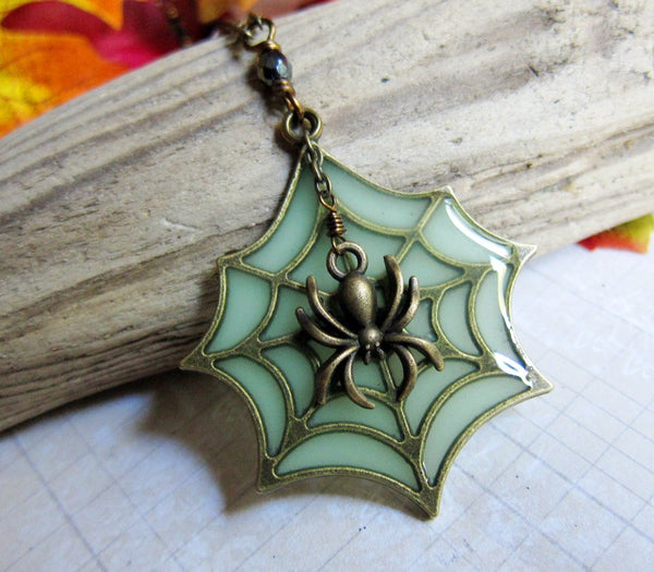 THE RADIOACTIVE SPIDER Necklace