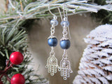 WINTER HAMSA Earrings