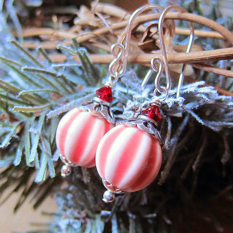 PEPPERMINT SWIRL Earrings