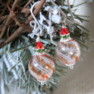 ORNAMENTS Earrings in Candy Swirl