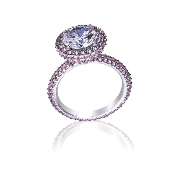 Solitaire Pink Diamond