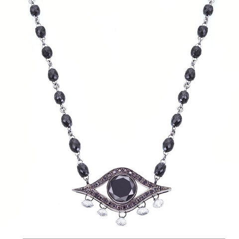 Black eye pendant