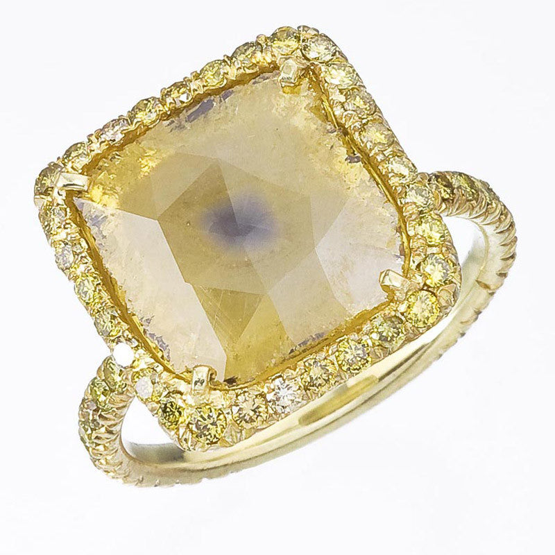 Yellow slice ring
