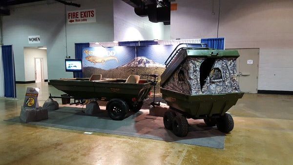 Tetra-Pod at the Chicago Outdoor Show