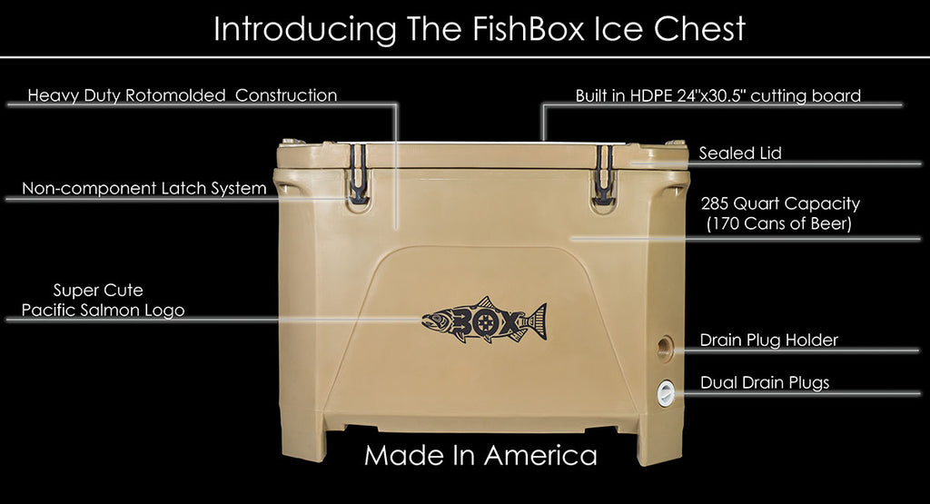 FishBox Ice Chest - Large Cooler