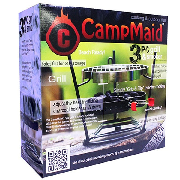Campmaid Combo Set 3 Piece Flip Grill and Dutch Oven