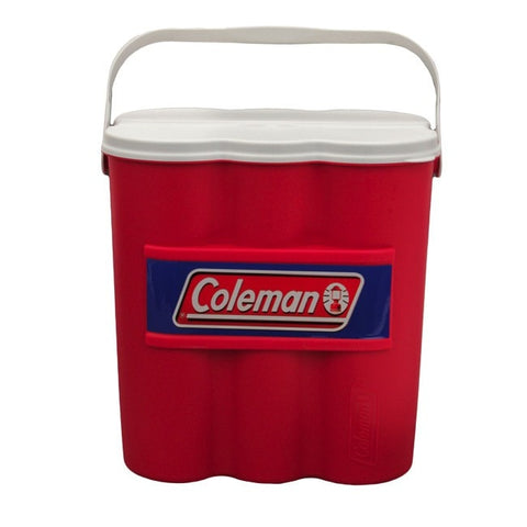 Coleman Cooler 12 Can Chiller Red