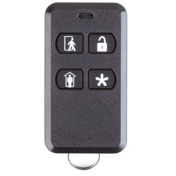 2GIG-KEY2-345 Wireless 4 Button Keyfob