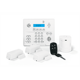 Interlogix Simon XTi Wireless Alarm System Kit with Motion, 3 Door, Fob