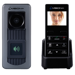 Optex Ivision+ Wireless Video Door Intercom With Portable Colour Monitor