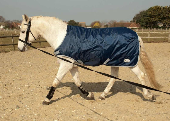 Rhinegold Horse Walker / Lunging Rug - Top Of The Clops