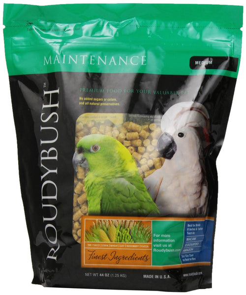 Daily Maintenance Bird Food - Feathered Friends of Santa Fe (www.ffofsf.com)