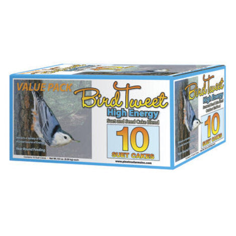 Bird Tweet High Energy Suet (10 Pack)