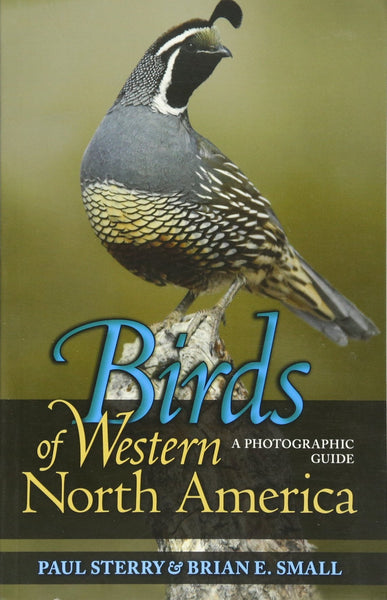 Birds of Western North America (A Photographic Guide) by Paul Sterry & Brian E. Small