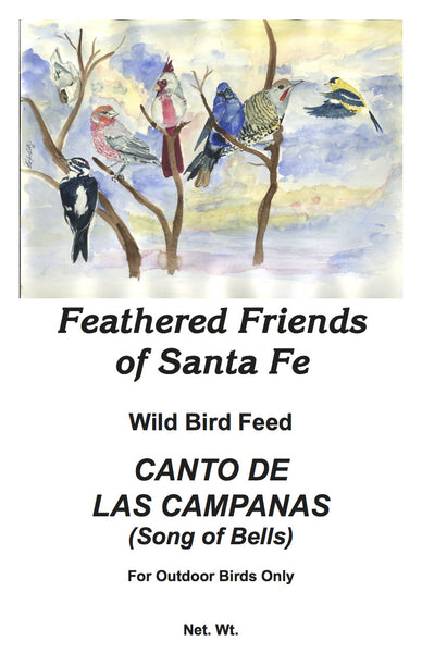 Canto de las Campanas (Song of Bells) | Wild Bird Seed 25 lb (11.33 kg) - Feathered Friends of Santa Fe (www.ffofsf.com)