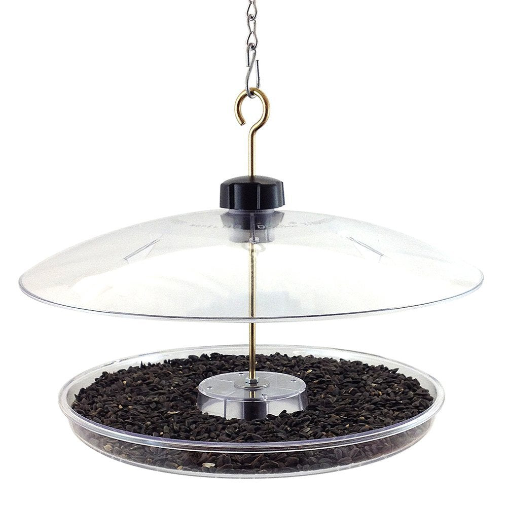 Droll Yankee Platform Fly Through Feeder - 13 in. tray