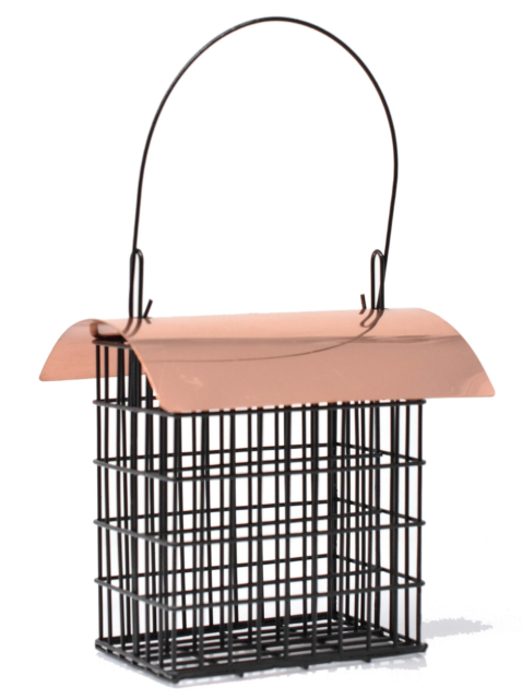 Deluxe Suet Cage (Copper Roof)