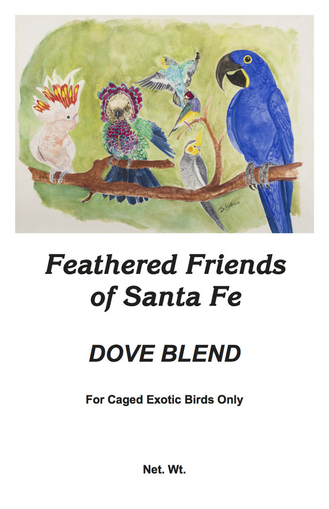 Dove Blend | Bird Seed - Feathered Friends of Santa Fe (www.ffofsf.com)