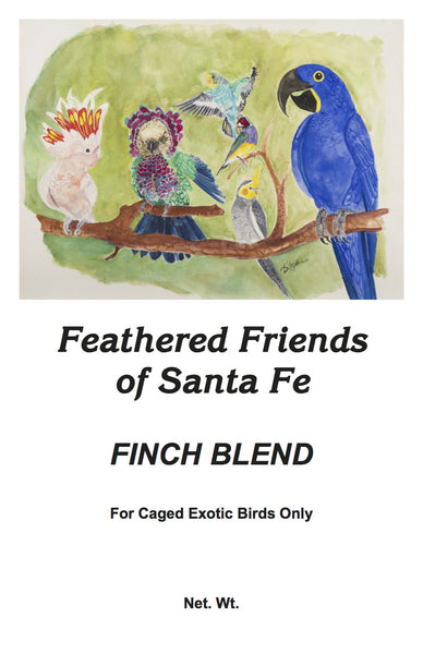 Finch Blend | Bird Seed - Feathered Friends of Santa Fe (www.ffofsf.com)