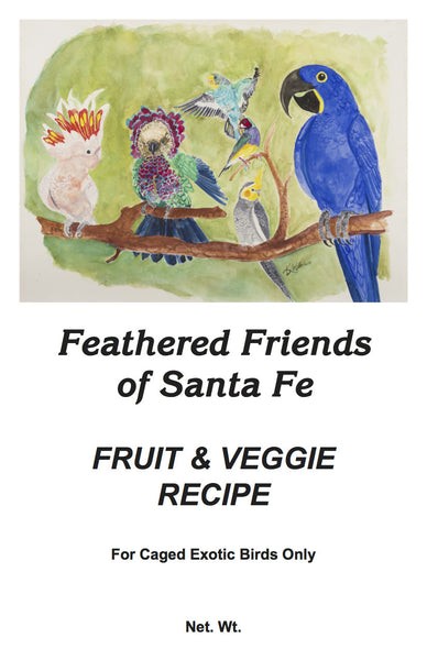 Fruit & Veggie Recipe | Exotic Bird Seed - Feathered Friends of Santa Fe (www.ffofsf.com)