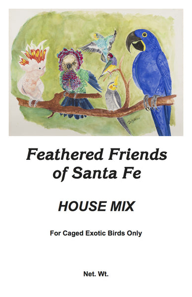 House Mix | Exotic Bird Seed - Feathered Friends of Santa Fe (www.ffofsf.com)