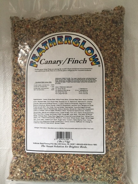 Featherglow Canary-Finch Food  2 lb (0.9 kg) - Feathered Friends of Santa Fe (www.ffofsf.com)