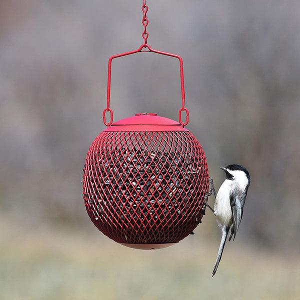 Perky-Pet Red Seed Ball Wild Bird Feeder