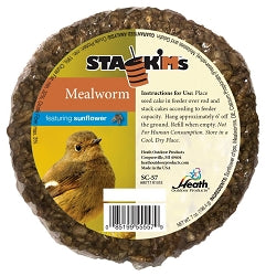 Stack'Ms Mealworm with Sunflower