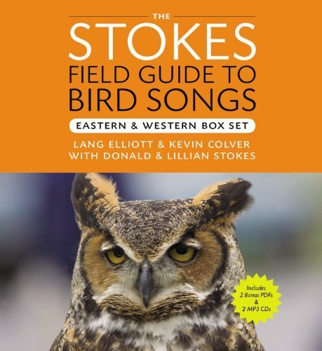 The Stokes Field Guide to Bird Songs (Audio 2 MP3 CDs & 2 Bonus PDFs) Eastern & Western Box Set