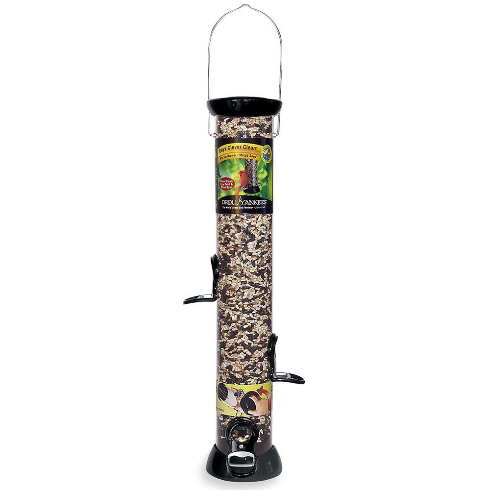 Droll Yankee - Onyx Sunflower Tube Feeder - 18 in.