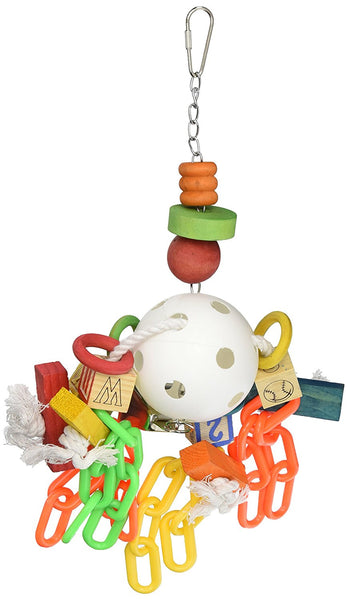 Play N Ball Rope, Chain & Bell Toy (M-L)