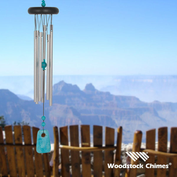 Woodstock Chakra Chimes Turquoise #CCT