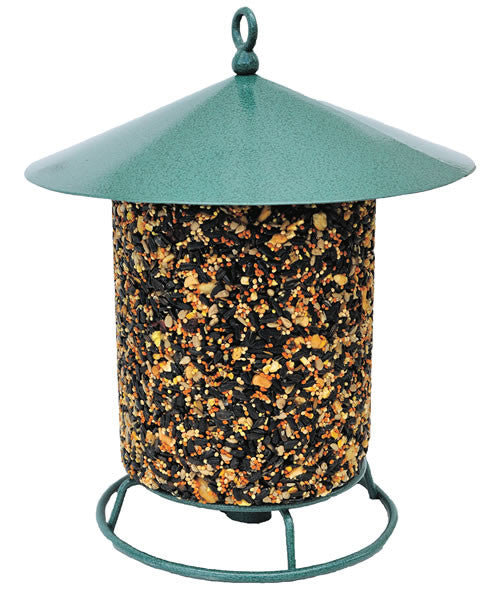 Classic Seed Log Hanging Feeder | - Feathered Friends of Santa Fe (www.ffofsf.com)