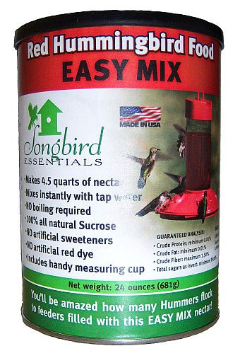 Easy Mix Red Hummingbird Food 24 oz