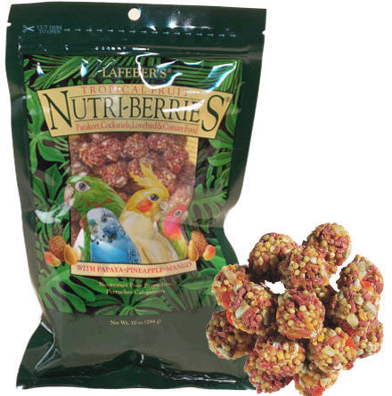 Tropical Fruit Nutri-Berries for Parakeet, Cockatiel, Lovebird, Conure - Feathered Friends of Santa Fe (www.ffofsf.com)